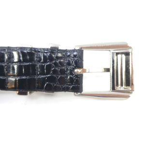 Sandy Duftler Accessories - Sandy Duftler Black Leather Western Style Belt